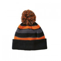 P Beanie 009 - Black/Orange/Graphite
