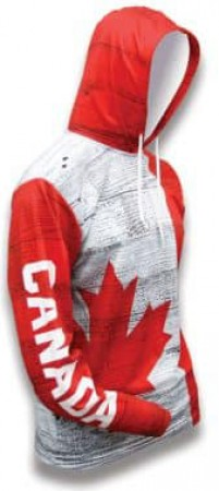 Canada World Sublimated Warmup Hoodie