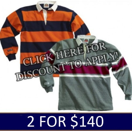 In-Stock Barbarian Jerseys 2 for $140.00