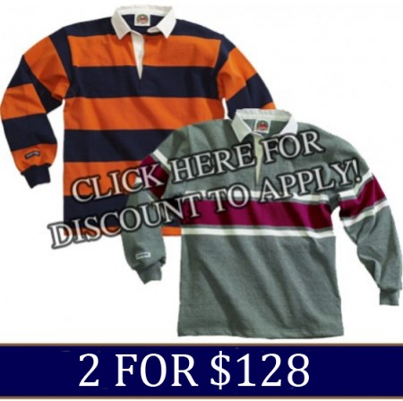 In-Stock Barbarian Jerseys 2 for $128.00
