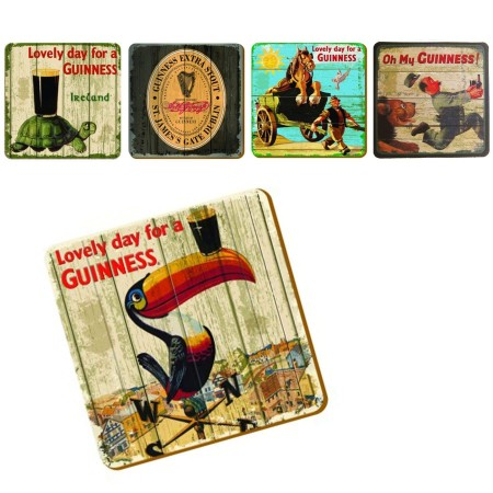 Guinness Heritage Coasters (Set of 20)