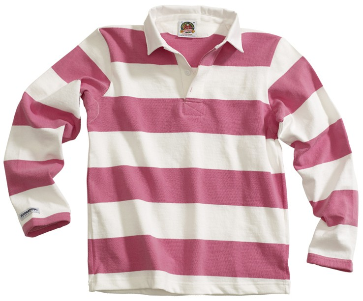 504478f0 Lady 019 - Pink/White - Ladies Rugby's - Barbarian In-Stock Jerseys