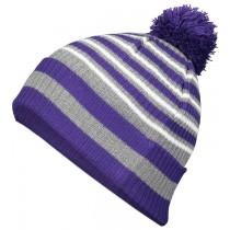 Purple/Heather Grey/White