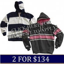 In-Stock Barbarian Hoodies 2 for $134.00