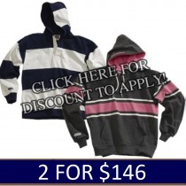 In-Stock Barbarian Hoodies 2 for $146.00