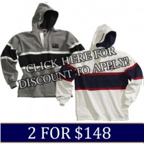 World Rugby Hoodies 2 for $148.00