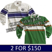 World Rugby Jerseys 2 for $150.00
