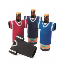 Collapsible Jersey Foam Can & Bottle Holder