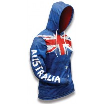 Australia World Sublimated Warmup Hoodie