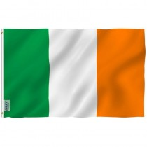 Ireland Rugby Fan Flag
