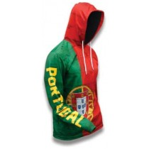 Portugal World Sublimated Warmup Hoodie