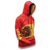 Spain World Sublimated Warmup Hoodie