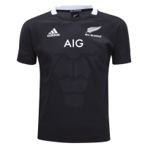Adidas All Blacks Rugby 19 Youth Home Jersey