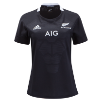 Adidas All Blacks Rugby 19 Women's Home Jersey